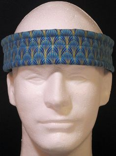 Ultimate Sweatband/Headband - Blue Regal by BondPracticalProduct on Etsy