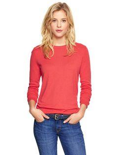 Gap | Luxlight sweater (cotton/nylon/silk)