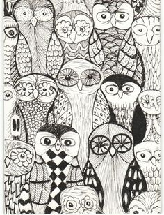 a parliament of owls | Flickr - Photo Sharing!