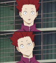 Haikyuu Manga, Anime Manga, Anime Art, Hot Anime Guys, Anime Love, Hinata, Ushijima Wakatoshi, Haikyuu Wallpaper, Anime Characters