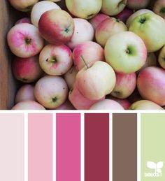 Apple hues   design seeds   Bloglovin'