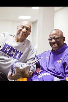 Bill Cosby and Coach Ruff!! We Are The Pirates of ECU!!!