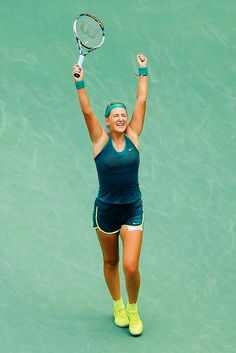 Victoria Azarenka at the US Open 2015 #WTA #Azarenka #USOpen