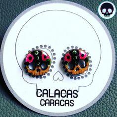 #Zarcillos de calacas para tu día a día  #CalacasCaracas