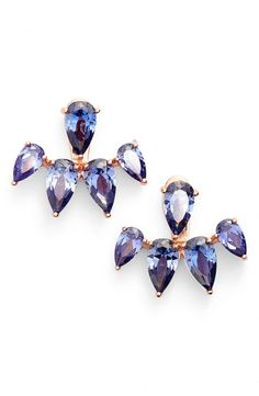 These crystal ear jackets can turn any look into a fabulous one.