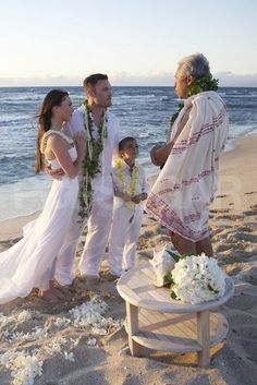 Megan Fox and Brian Austin Green wed in Hawaii during June 2010 before his son Kassius. This intimate beach wedding is perfection!