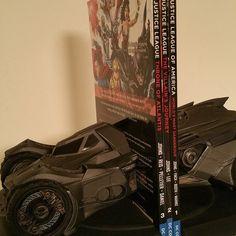DC Comics Batman: Arkham Knight Batmobile Statue Bookend - Available March 2016