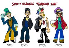 England Society Changes Through Time by Antonio Cartoons, via Flickr