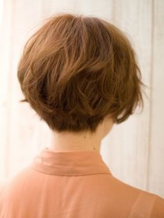 Back View of Cute Short Japanese Haircut - Back View of Bowl ...