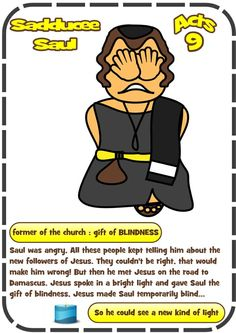 Saul on Damascus road (Acts Kids Sunday School Lessons, Sunday School Crafts, Bible Stories For Kids, Bible For Kids, Jesus Calms The Storm, Acts 9, Bible Heroes, Bible Coloring Pages, Biblia