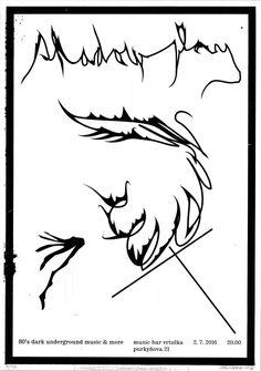 Shadowplay 2 (2016) poster (silkscreen) / plakát > Lukáš Beran (design) Plzeň