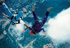 I want to go sky diving.
