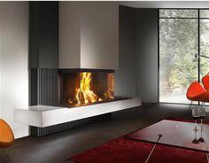 Cheminées , cheminées contemporaines à Albertville (Savoie - Rhônes Alpes) | Bompas