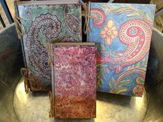 Cajas de madera en forma de libro, el mejor lugar para esconder lo que más aprecias y que nadie es de cuenta.