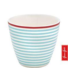 Latte Cup ~ Juliet ~ Blue | GreenGate