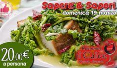 Serata 'Sapere & Sapori' Da Il Calice - 19 Marzo http://affariok.blogspot.it/