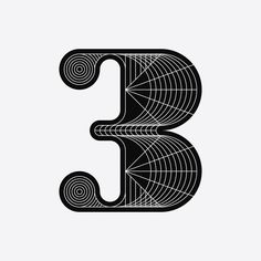 36 Days of Type 2016 on Behance Typography Layout, Lettering Design, Number Typography, 36 Days Of Type, Graffiti, Numbers, Symbols, Letters, Graphic Design