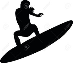 surf silhouette - Google Search