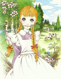"kiki-kawaii: "" Macoto takahashi - Anne of Green Gables "" Manga Anime, Old Anime, Anime Art, Manga Drawing, Manga Art, Wie Zeichnet Man Manga, Arte Sketchbook, Anime Kunst, Anne Of Green Gables"