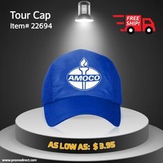A popular product to promote your brand. Grab fantastic deals here : http://bit.ly/2r5T2k1 #branding #advertising #promodirect #promotionalproduct #promotion #caps #tourcap