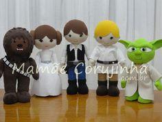Coleção Star Wars - 08 bonecos