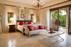 Rental Properties Barranca 21 | Caribbean Luxury Villas Luxury Villa Rentals, Rental Property, Private Pool, Jacuzzi, Game Room, Valance Curtains, Swimming Pools, Caribbean, Bedroom