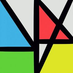 Check out this pumping new track by New Order featuring backing vocals from La Roux's Elly Jackson. New Order Album Covers, Cool Album Covers, Music Covers, Der Elf, Dazzle Camouflage, Peter Saville, Music Artwork, Artwork Design, Sleeve Designs