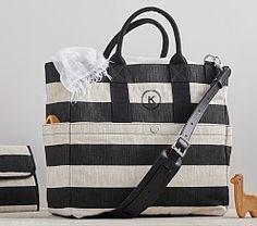 Natural/Black Stripe Fillmore Diaper Bag                                                                                                                                                                                 More