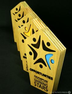 Olympus-trophy-custom-made-custommade-wood-layered-laser-etch-cut-laseretch-lasercut-colour-paint
