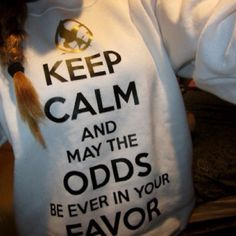 i need this sweatshirt! It will add to my Hunger Games clothing collection!