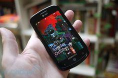 Samsung Focus 4.0 inch / First version Windows Phone of Samsung, 2011