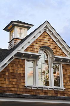 Cupola on a New England shingle style home
