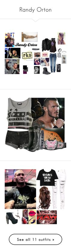 """Randy Orton"" by floss1999 on Polyvore featuring CENA, Champion, G-Star, Converse, Bling Jewelry, Palm Beach Jewelry, Fiebiger, wwe, tops and t-shirts"