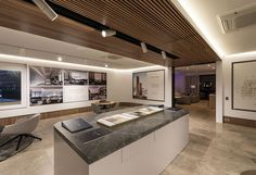 Sky One Box Hill Brand & Design Agency - SouthSouthWest Retail Interior Design, Showroom Design, Site Office, Marketing Office, Sales Center, Leasing Office, Office Lobby, Real Estate Office, Urban Loft