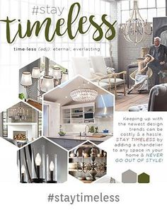 #StayTimeless Keeping up with the newest design trends can be costly & a hassle. Stay Timeless by adding a chandelier to any space in your home & Never go out of style!