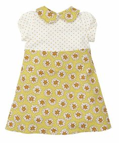Little Bird by Jools Spot and Floral Cream Dress - dresses & skirts - Mothercare