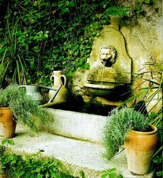 French Fountain