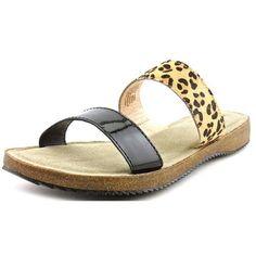 Adam Tucker Autumn 9 Women US 9 Multi Color Slides Sandal, Women's, Size: 9 Medium, Brown