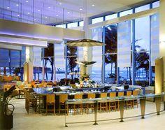 San Juan, Puerto Rico's Caribe Hilton Bar - Home of the Piña Colada. Stunning views in a stunning setting.