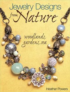 am new to this site but it looks promising using alot of earthy inspired beads - not in library - on amazon