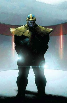 Thanos by Olivier Coipel