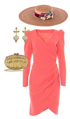 look de invitada de boda de lamasmona.com Race Day Fashion, Races Fashion, Party Fashion, Dress Outfits, Cute Outfits, Fashion Outfits, Womens Fashion, Mom Dress, Dress Up