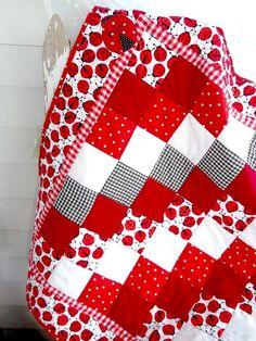 Simple and cute quilt idea @ DIY Home Ideas