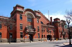 The Armoury, home of the Rileys (Royal Hamilton Light Infantry)