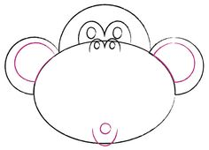 How To Draw A Monkey Art For Kids Hub Art Extravaganza Ideas