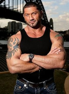 Dave Batista People may think I'm crazy, but i've always thought Batista was gorgeous!