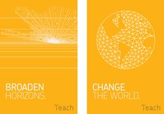 Education is the key to human progress, therefore teaching is among the most important professions for humanity. Our new visual vocabulary should capture the excitement and magic of activating the potential that is innate in every student. It should celebrate the process of developing ideas, reflect the collaborative nature of teaching and pay homage to existing visual tools used in teaching.