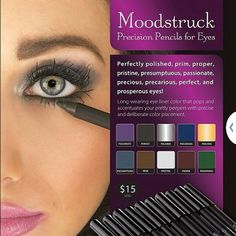 Younique's Moodstruck Precision Eye Liner Pencils...my new favorite eye liner! Only $15 https://www.youniqueproducts.com/CarlaValdez