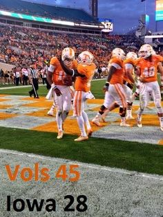 If u don't like Tennessee football you should because there is something special going           GO VOLS