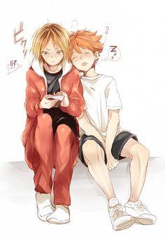 Kenma and Hinata | Haikyuu!! #anime